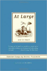 At Large and At Small Anne Fadiman cover