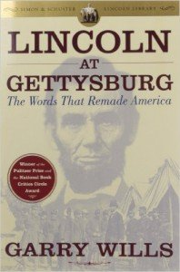Lincoln at Gettysburg Garry Wills cover