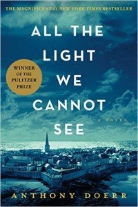 All the Light We Cannot See Anthony Doerr cover