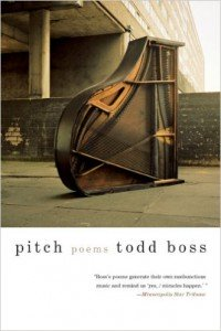Pitch Poems Todd Boss cover