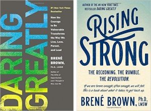 Daring Greatly Rising Strong Brene Brown cover